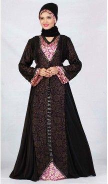 Abaya Collection and Burqa Hijab Islamic in Lycra Black | FH525379516 #trendy, #highquality, #islamic, #clothing, #women, #hijab, #fashion, #dresses, #jilbabs, #hijabs, #shawls, #islamic, #muslim, #burqa, #niqab, #wedding, #store, #boutique, #dubai, #pakistani, #mordern, #heenastyle, #readymade, #black, #color, @heenastyle