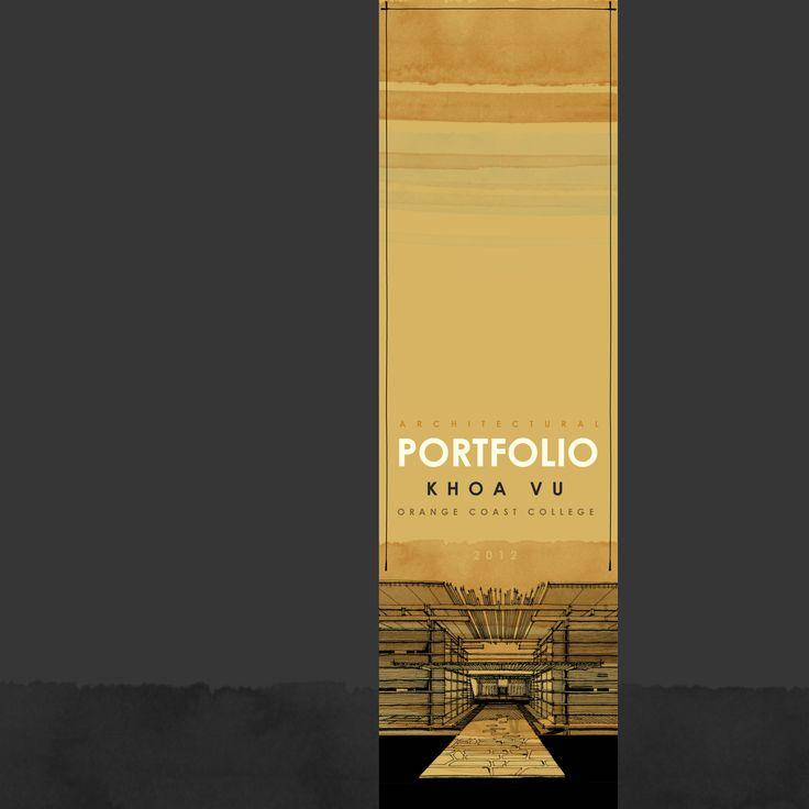 architecture portfolio cover - Google Search