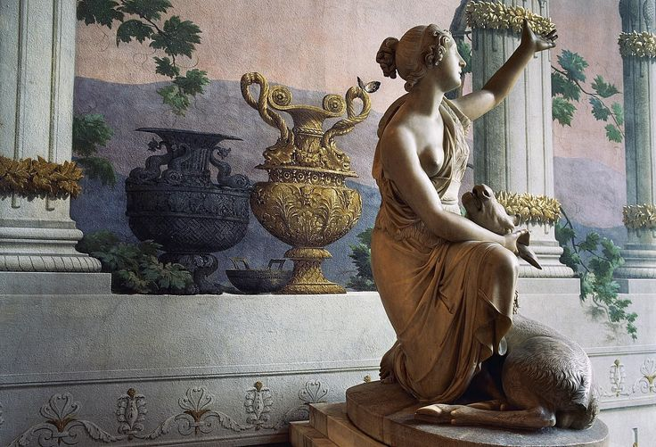 In Roman myth, Diana is a goddess of the hunt and the forest. However, she eventually evolved into a lunar goddess and a protector of women in childbirth.