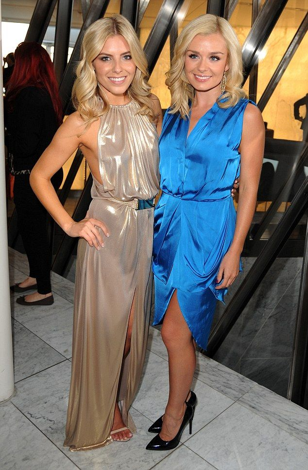 Mollie King and Katherine Jenkins looking GORGEOUS