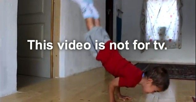 Can you do 90 degree push ups, check out this 5 year old kid doing this healthy fitness exercise with perfection.