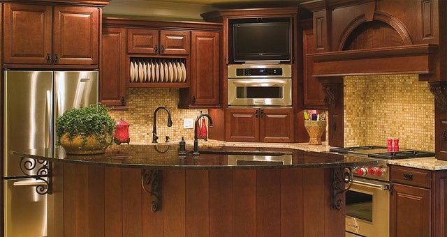 KITH Jamestown Cherry with Coffee Glaze by Below Wholesale Cabinets, via Flickr