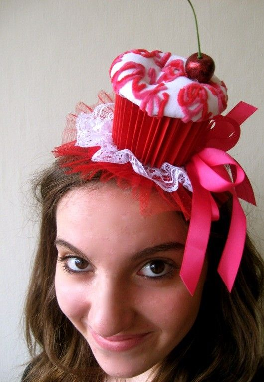 Cupcake Hat for Cupcake Party