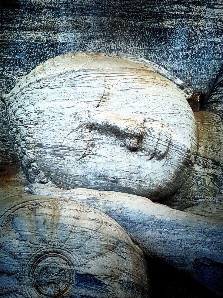 The Sleeping Buddha Sri Lanka. TGoA tea tour.