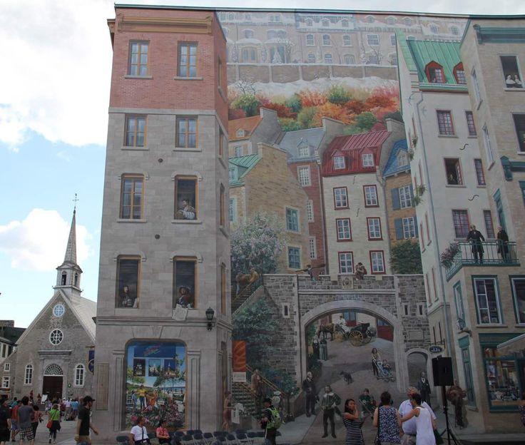 Attractive Notre Dame Wall Mural Design