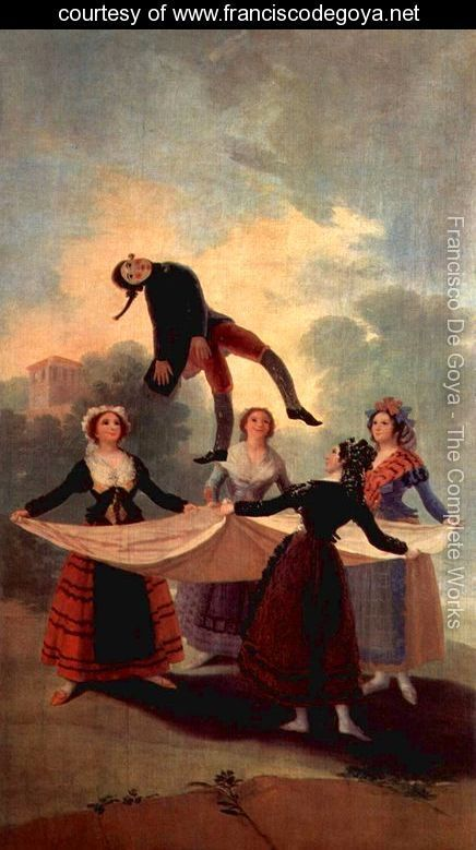 The Marionette by Francisco De Goya