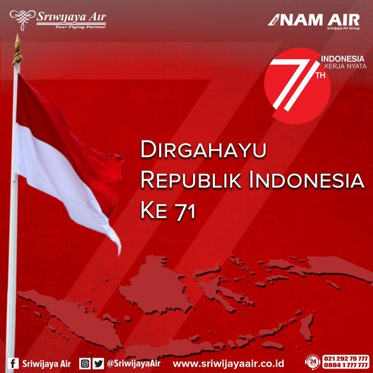 71 Tahun Indonesia Merdeka, 71 Tahun pula kita mengisi Kemerdekaan kita dengan berbagai hal yang memajukan dan membanggakan nusa bangsa. Mari kita terus melanjutkan perjuangan, ikut bersinergi membangun negeri dan melakukan kerja nyata demi kejayaan Indonesia. Dirgahayu Republik Indonesia!