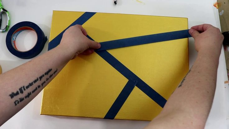 how to make abstract art with acrylics