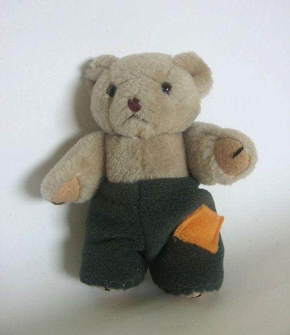 Teddy 14 cm 55 inch nutka_art handmade doll bear by nutkaart