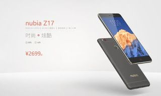 Nubia Z17 Smartphone Berlayar Besar yang lebih menonjolkan pada penggunaan Baterai 5000 mAh