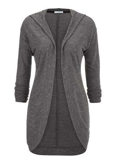 cardigan with hood and ribbed trim (original price, $34) available at #Maurices