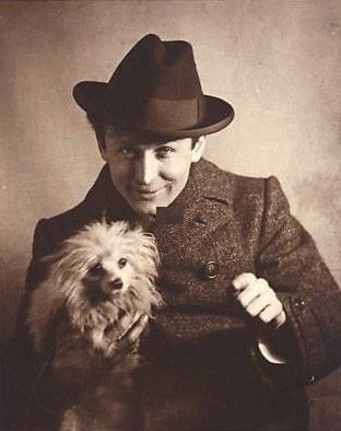 Harry Houdini - never gave Harry more than a passing thought...but this photograph is fantastic.