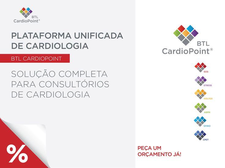 Software CardioPulmonar  Plataforma unificada de cardiologia Interface de utilizador totalmente personalizável Funcionamento em rede #BTL #CardioPoint http://www.btlportugal.pt/produtos-cardiologia-software-cardiopulmonar