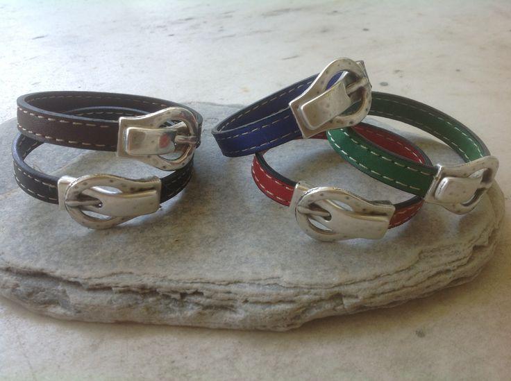 Unisex belt bracelets