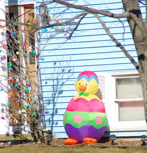 The 25 Best Outdoor Easter Decorations Ideas On Pinterest