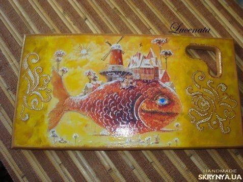 Кухонная доска Чудо-Рыба