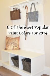 6 Of the most popular paint colors for 2014