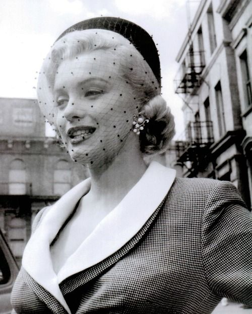 Marilyn during the production of 'Love Nest' in 1951.