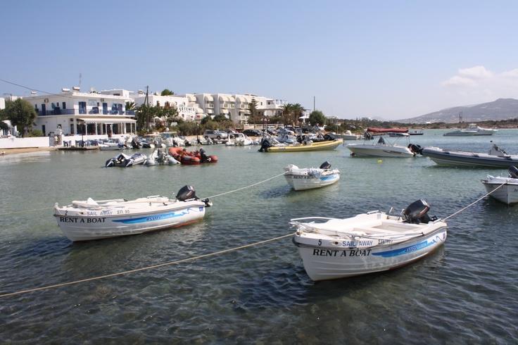 Boat at Paros Island