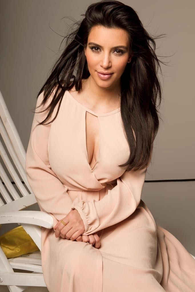 Kim Kardashian: The pregnant reality phenom sat down with WWD while in Paris to take in the couture happenings and shoot a campaign for Pure Honey, her sixth scent.