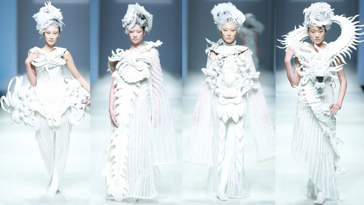 17 best images about sci fi fashion on pinterest jean for Xuming haute couture
