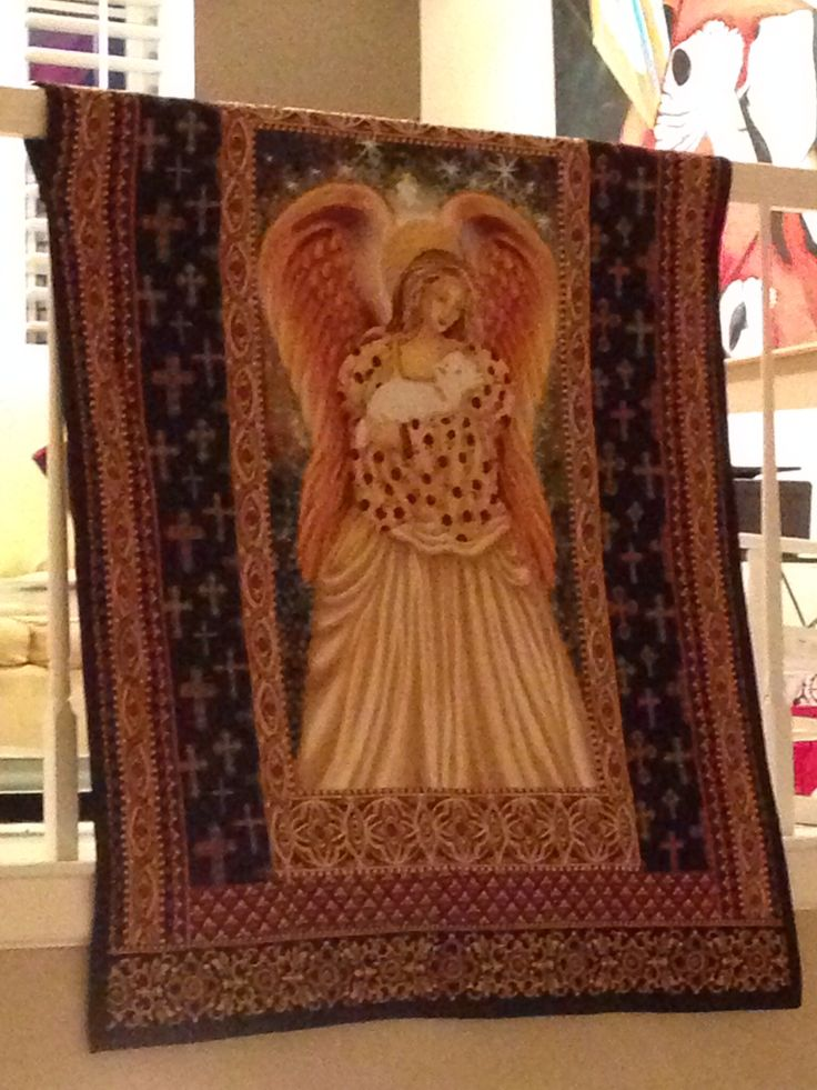 Christmas Angel Quilt For Mom Angel Quilts Pinterest