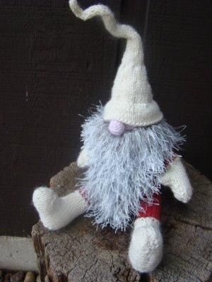 Felt Gnome Patterns Knitted Gnome By Alan Dart Pattern