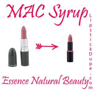 MAC Syrup Dupe Essence Natural Beauty | MAC Dupes ...