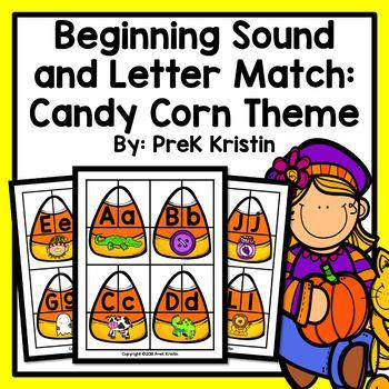 Candy Corn Alphabet Matching Game  supplymecom