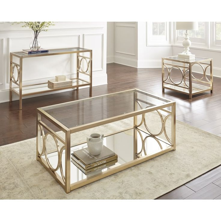 Greyson Living Oria End Table | Overstock.com Shopping - The Best Deals on Coffee, Sofa & End Tables