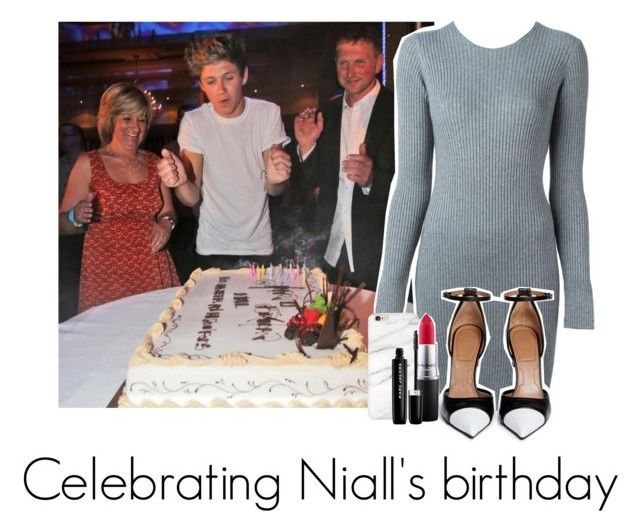 """celebrating Niall's birthday"" by miranda5sos1d ❤ liked on Polyvore featuring Alexander Wang, MAC Cosmetics, Marc Jacobs and Givenchy"
