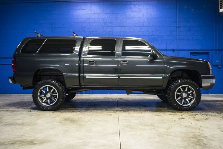 Big Lifted 2005 Chevrolet Silverado 1500 LS 4x4 Chevy Truck For Sale At Northwest Motorsport
