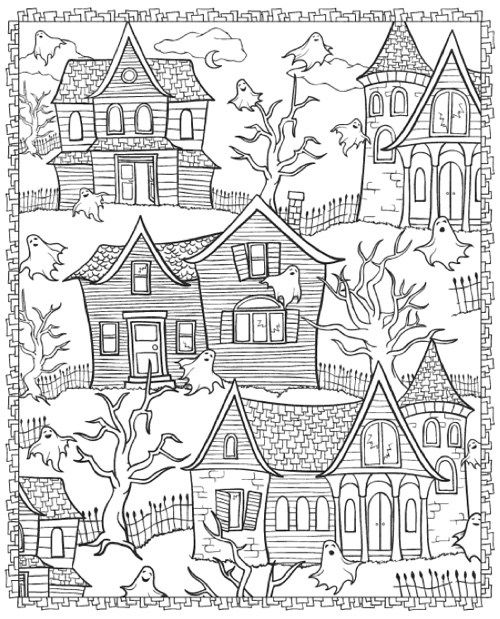 199 best Halloween to Color images on Pinterest Coloring books - best of nice halloween coloring pages