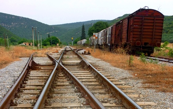 Decommissioned train cars in #Alexandroupoli #Greece