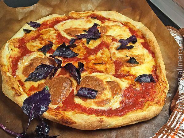 Пицца Маргарита как в пиццерии / Рецепты с фото