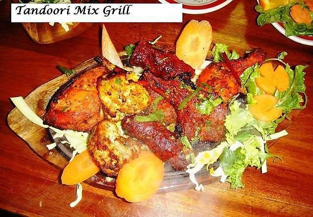 mix Grill in indian restaurant