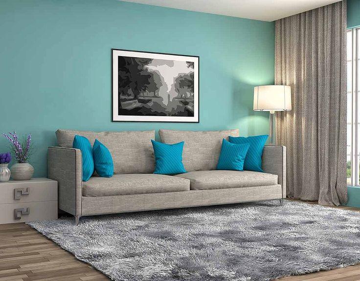 Диван с подушками и серый ковер для гостиной: купить всё необходимое и получить консультацию дизайнера вы можете в Центре дизайна и интерьера 'ЭКСПОСТРОЙ на Нахимовском'
