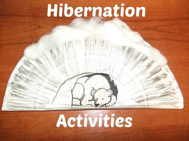 Classroom Winter Ideas ~ Free hibernation activities