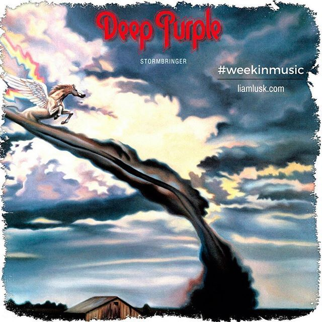 #weekinmusic #greatmusic From #1974 the ninth studio album by #deeppurple named #stormbringer - #hardrock #funkrockCheck out the #weekinmusic section of my blog at http://liamlusk.com/category/week-in-music/