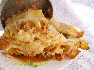 W Mojej Kuchni Lubię.. : cannelloni z mięsem z pomidorami...
