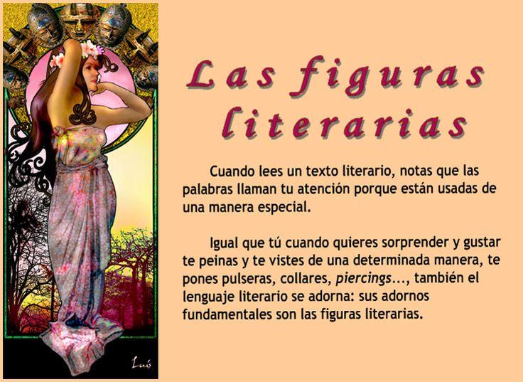 ... Las figuras literarias.