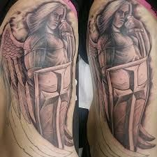 Картинки по запросу ангелы тату на руке