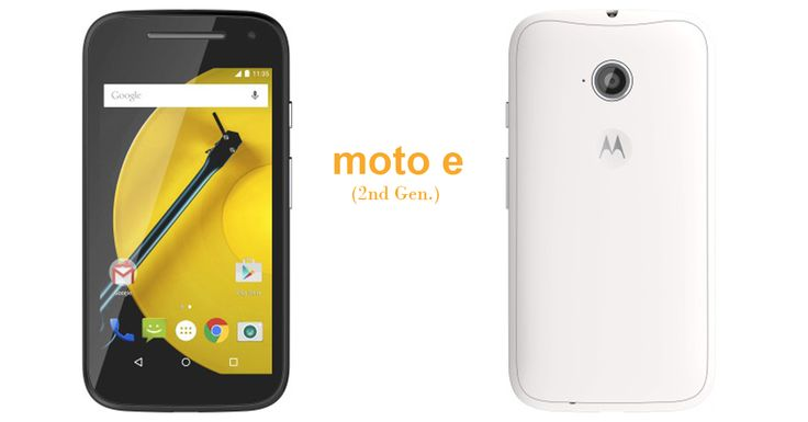 Rs 6,999 for Moto E 2nd generation Launched at Flipkart
