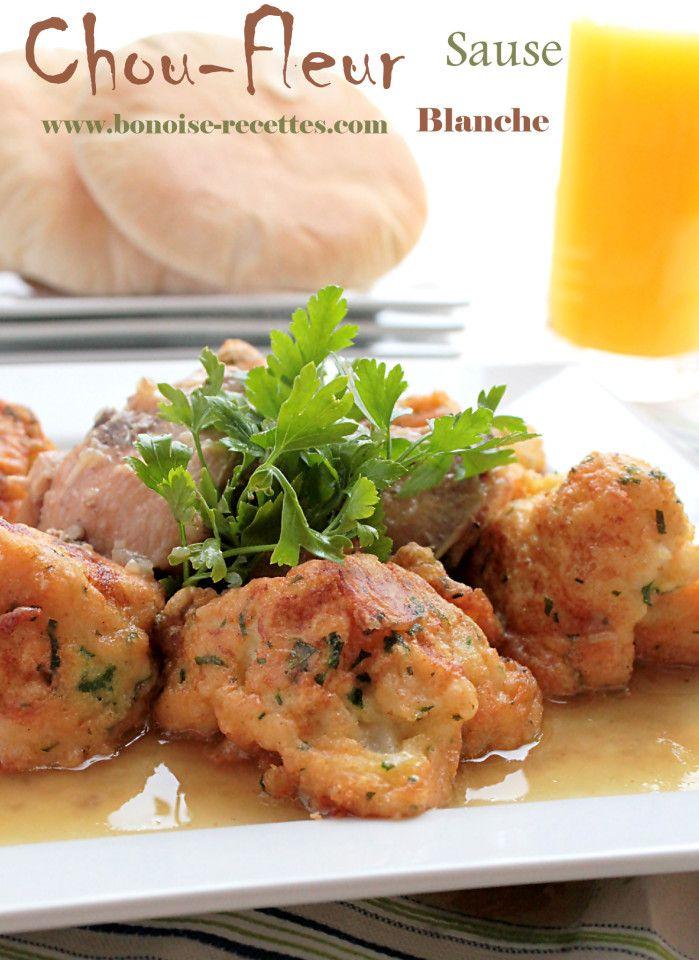 Fried cauliflower chicken white sauce recipes for Algerien cuisine