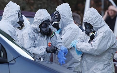 Spy poisoning: Police Sergeant Nick Bailey named as officer injured with nerve agent