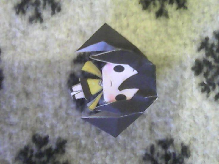 Takane Enomoto Chibi Papercraft by RinNeko-Nyan