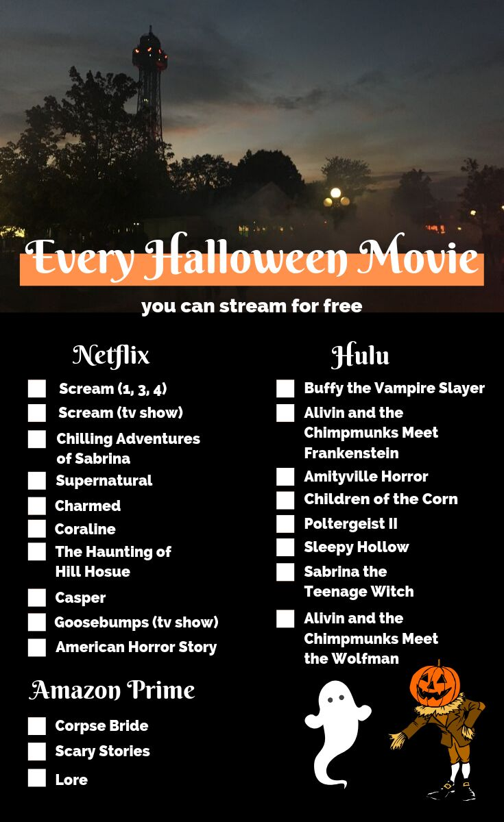 The Best Halloween Movies (& Shows) on Netflix, Hulu, and