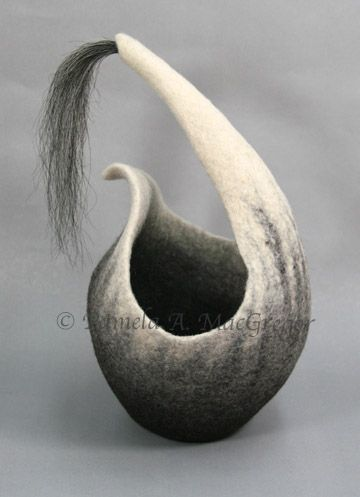 .Felt Sculptures | Fiber Art by Pamela A. MacGregor