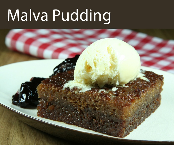 My most favorite dessert - malva pudding
