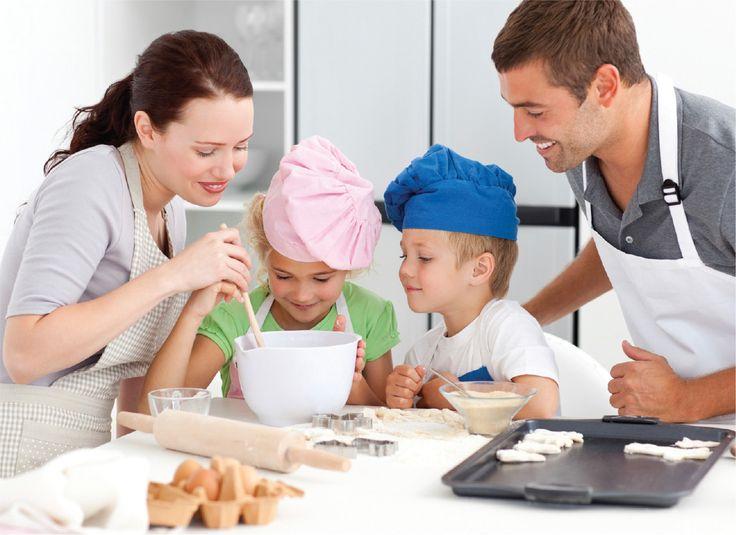 Genitori & figli: un fornello per due